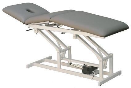 Table de kinésithérapie hydraulique C-615-HI, 3 pans