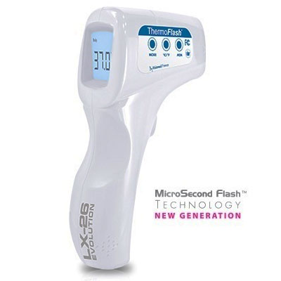 Thermom tre infrarouge frontal thermoflash lx26 - Thermometre infrarouge pas cher ...