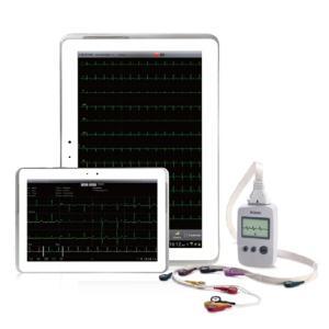 Electrocardiographe EDAN PADECG avec tablette Android 8 pouces