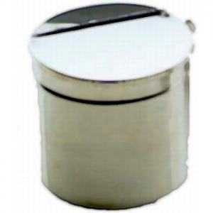 Boîtes Cylindriques en inox 18-10