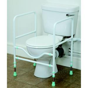 Cadre de toilettes Prima avec accoudoirs