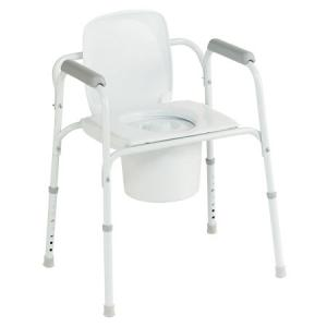 Chaise toilette invacare styxo cadre de toilette - Chaises percees de toilette ...