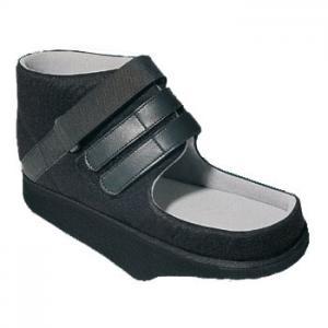Chaussure de décharge de l'avant-pied, semelle longue avec bord