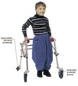 deambulateur kaye walker pour enfant handicap. Black Bedroom Furniture Sets. Home Design Ideas