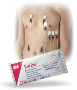 Electrodes 3M Red Dot de diagnostic - Adhésif conducteur