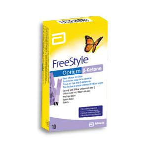 Electrodes Freestyle Optium Beta-Cetone (boîte de 10)