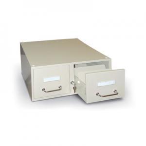 Fichier métallique 2 tiroirs