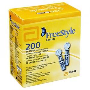 Lancettes Freestyle Papillon (boîte de 200)