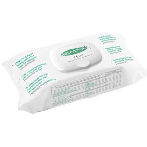 Lingettes désinfectantes Aseptonet - sachet de 100