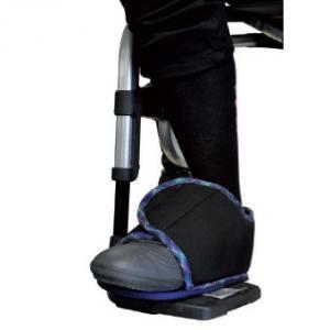 maintien de pied pour fauteuil roulant. Black Bedroom Furniture Sets. Home Design Ideas