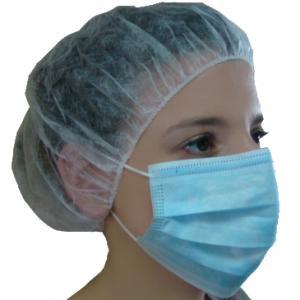 Lot de 3 boîtes de 50 masques chirurgicaux à élastiques