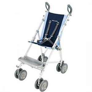 Poussette Buggy Major Elite Bleu enfant handicapé