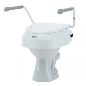 Réhausse WC Invacare Aquatec AT900 avec accoudoirs